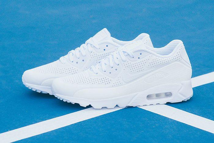 Nike Air Max 90 Ultra Moire Triple White 5