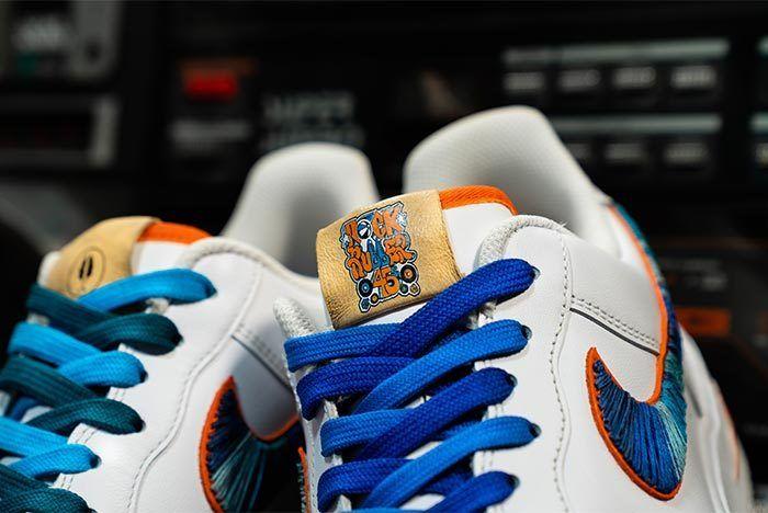 Afew Store X Bobbito Garcia Nike Air Force 1 Rock Rubber 45S 12