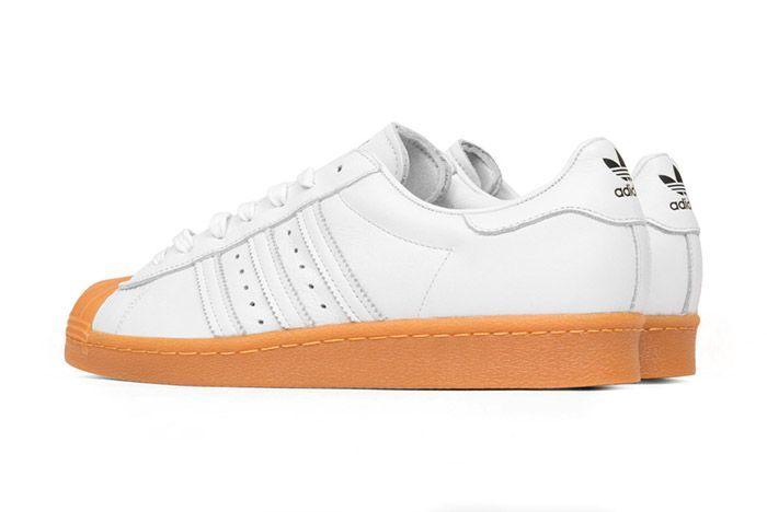 Adidas Originals Superstar 80 S Dlx White Gum 6