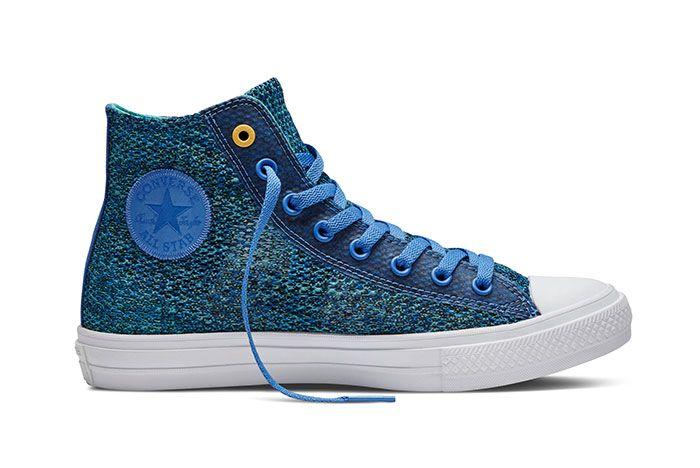 Converse Chuck Taylor All Star High Open Knit Blue 1