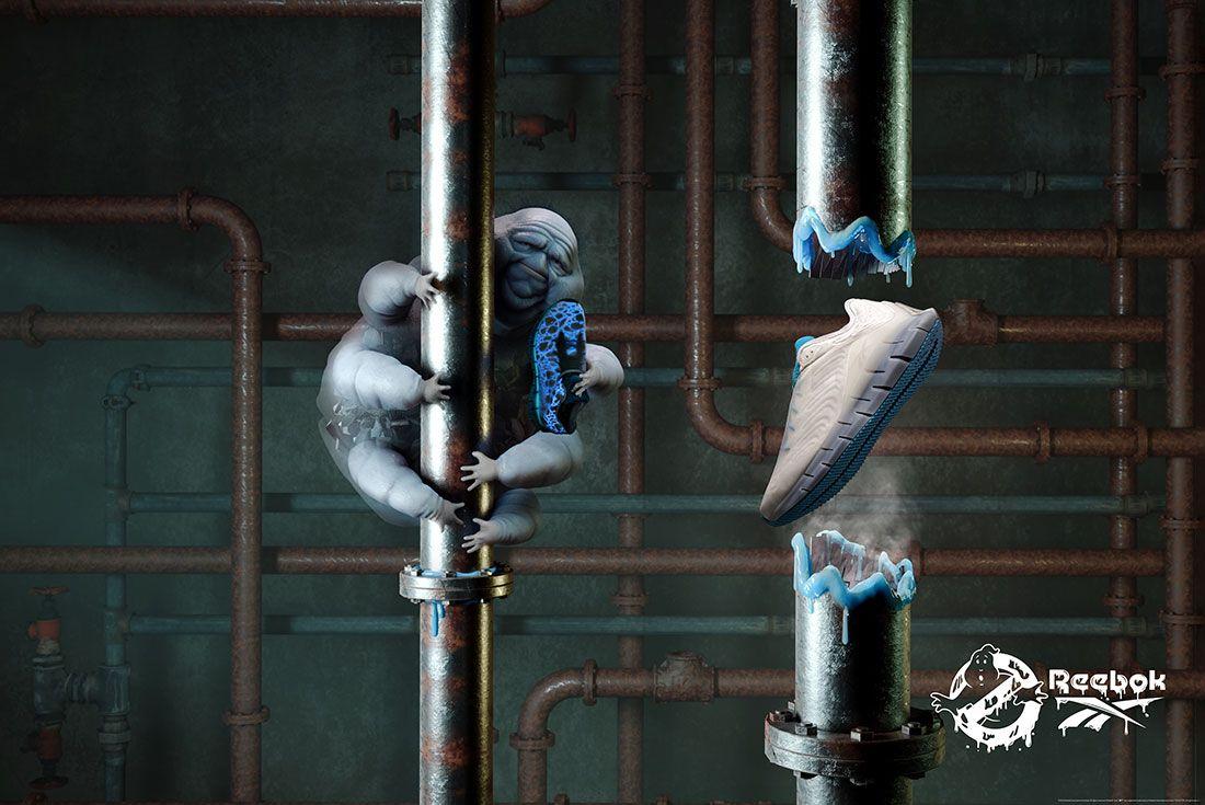 Ghostbusters x Reebok Zig Kinetica Muncher