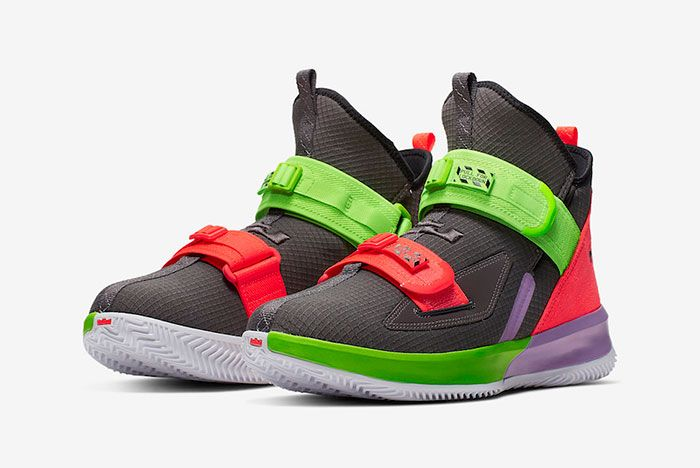 Nike Le Bron Soldier 13 Thunder Grey Ar4228 002 Release Date 4