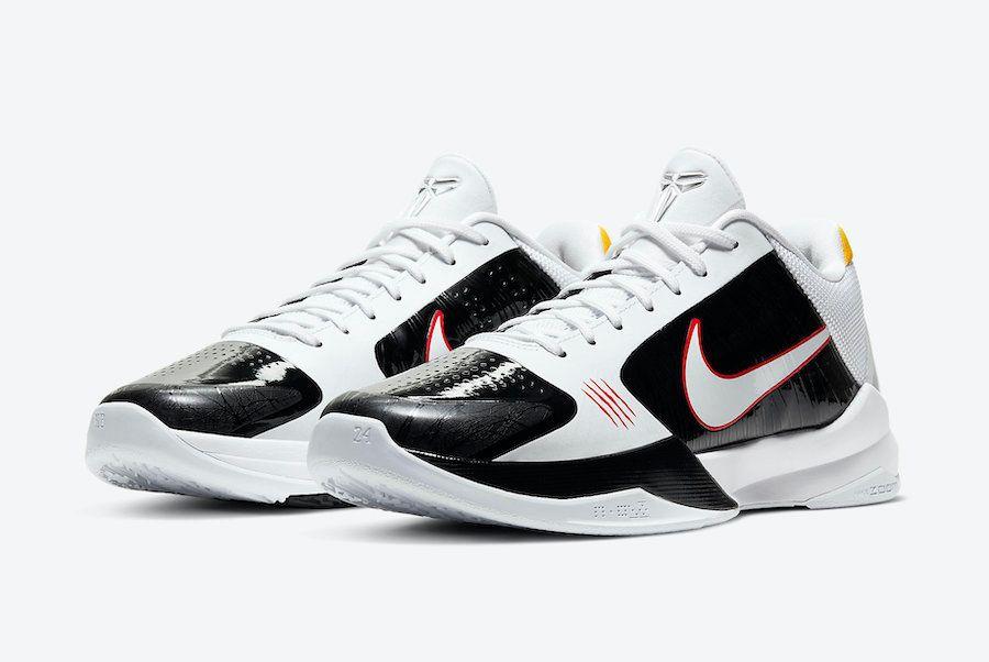 Nike Kobe 5 Alternate Bruce Lee Angled