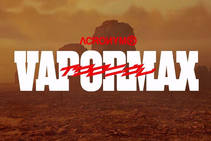 Vapor Max Acronym