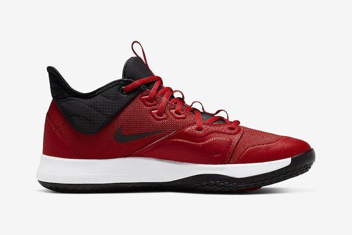 Nike Pg3 University Red Medial