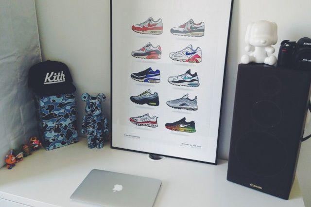 New Range Sneaker Art By Kick Posters 3