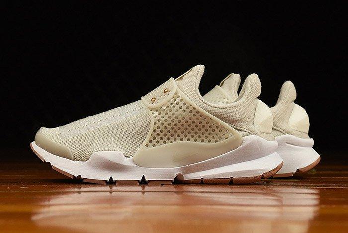 Nike Sock Dart Light Bone Gum Wmns 4