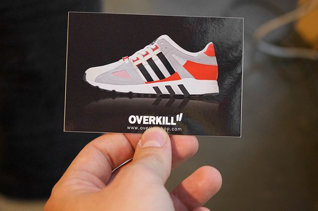 Adidas Eqt And Snkr Frkr Montana Cans Launch At Overkill Recap 14