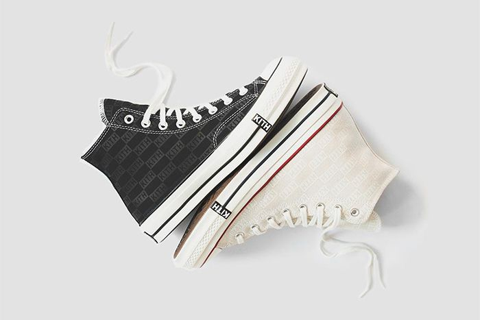 Kith Converse Chuck 70 Monogram Release Date Pair