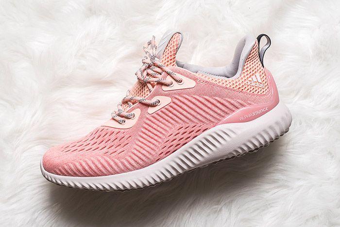 Adidas Alphabounce Pink Womens 1