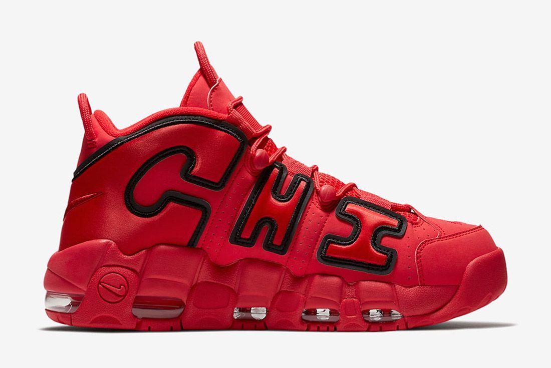 Nike Air More Uptempo Chicago 4