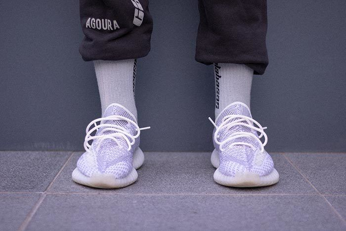 Yeezy Clear On Foot 3
