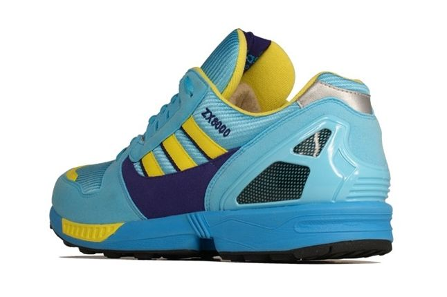 Adidas Zx 8000 Blue Yellow Heel Profile 1