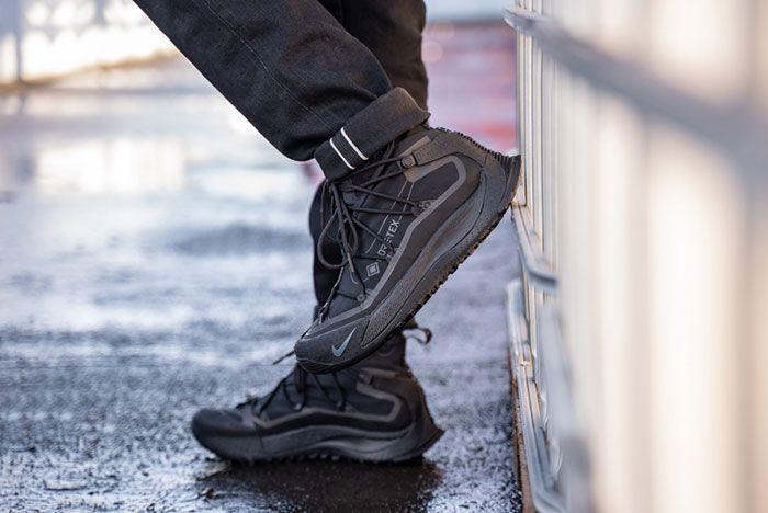 Nike Acg Air Terra Antarktik Gore Tex Bv6348 001 On Foot Lifted