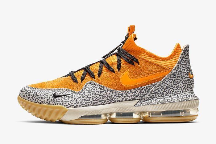 Nike LeBron 16 Low 'Safari'