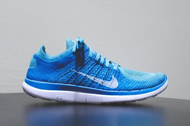 Wmns Flyknit 4 0 Turquoise Sideview