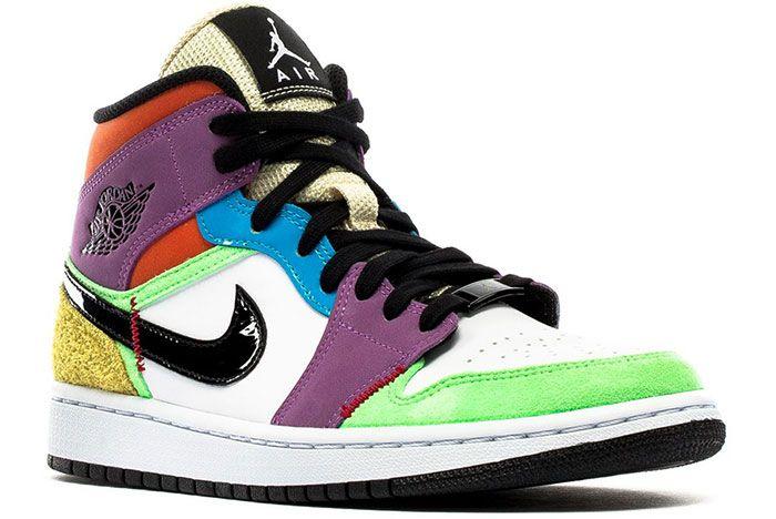 Air Jordan 1 Mid Lightbulb Heel Toe 2