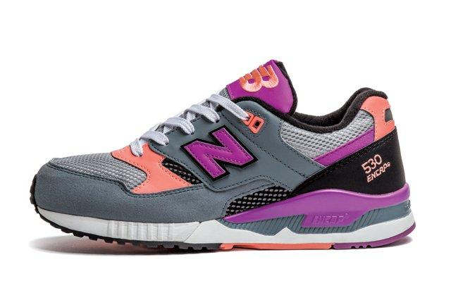 New Balance 530 Wmns Grey Purple Peach