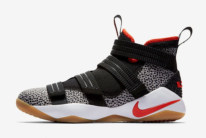Nike Le Bron Soldier 11 Sfg Safari 897646 006 Sneaker Freaker 1