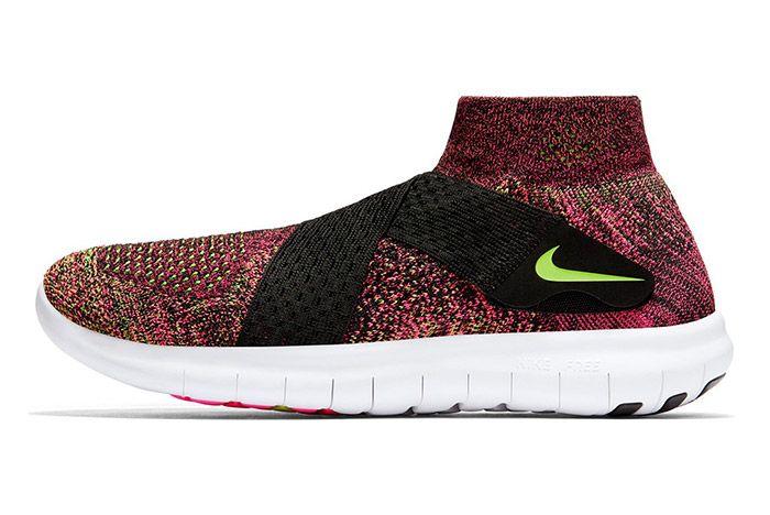 Nike Free Rn Motion Flyknit 2017 Pink