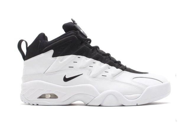 Nike Air Flare White Black 2
