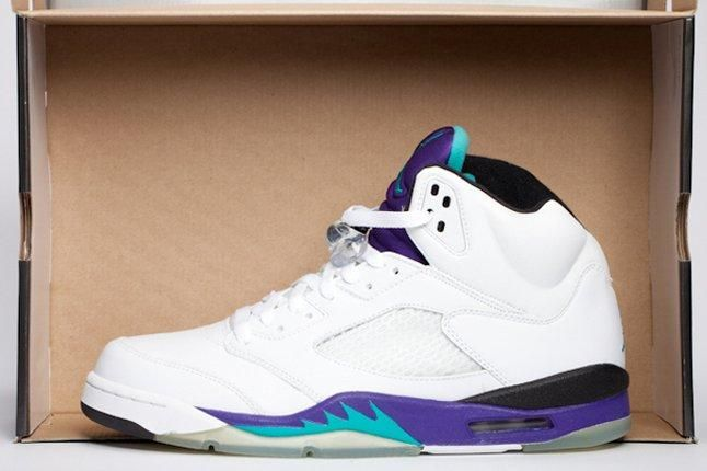 10 Perfect Purple Sneakers Air Jordan 5 Grape 1