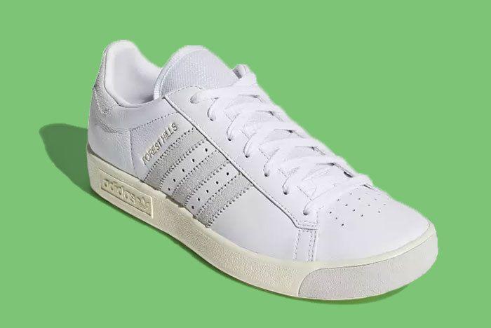 Adidas Forest Hills White 3