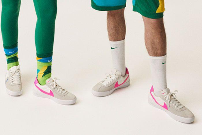 Nike Bruin Zoom X Bruin React On Foot