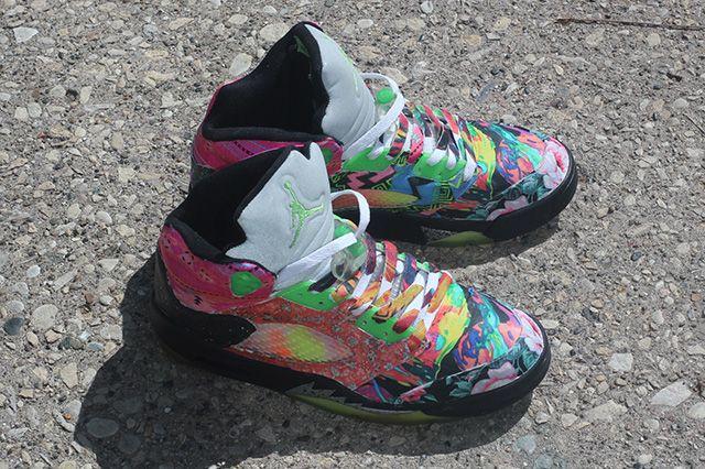 Rbn Custom Air Jordan 5 What The Fresh Prince