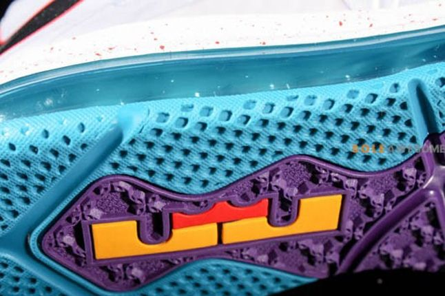 Nike Lebron X Low Hornets Sole Detail 1
