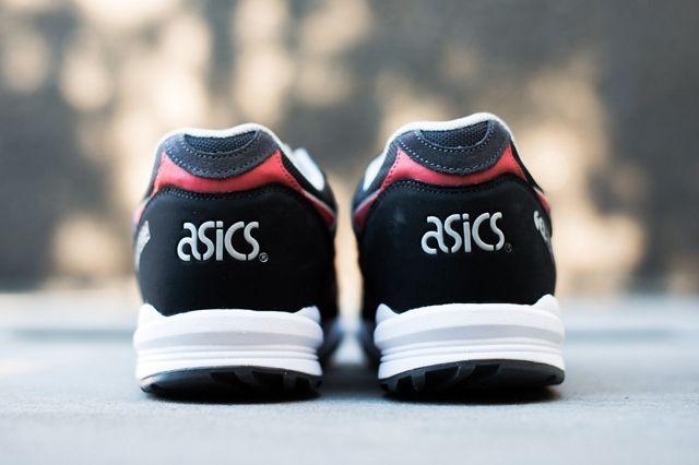 Asics Gel Saga Black Red 3