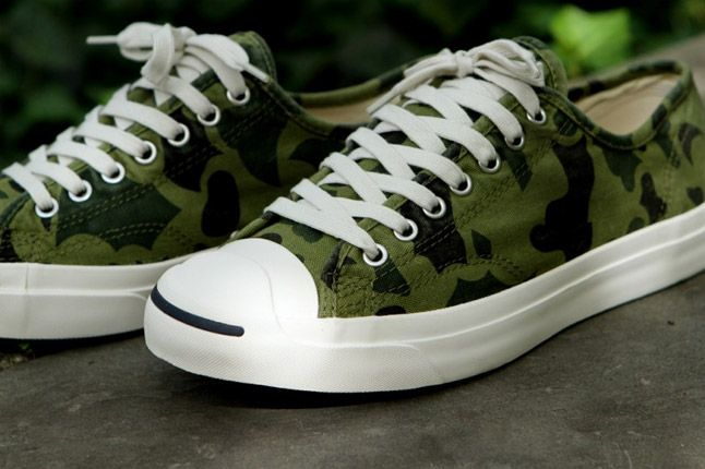 Converse Jack Purcell Olive Camo Kith Nyc 1