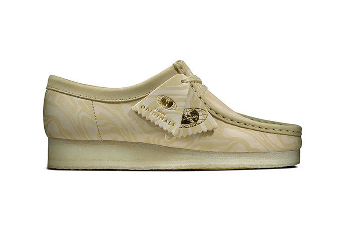 Clarks Originals Wu Tang Wallabees Cream Lateral