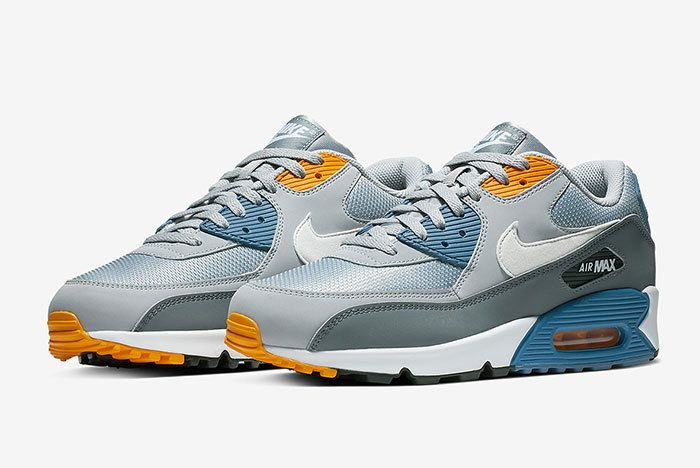 Nike Air Max 90 Grey Blue 2