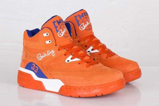 Ewing Athletics Ewing Guard Orange Suede 1