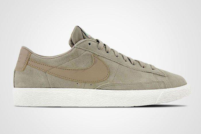 Nike Blazer Low Khaki Fresh Mint Thumb