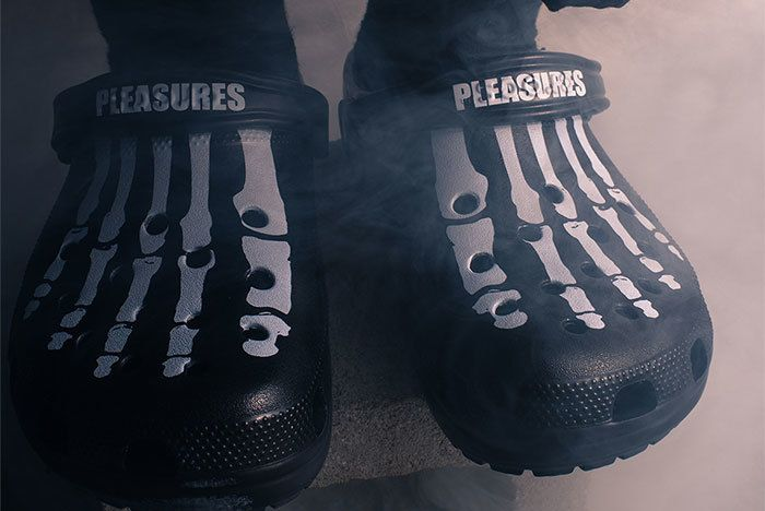 Pleasures X Crocs Sneaker Freaker