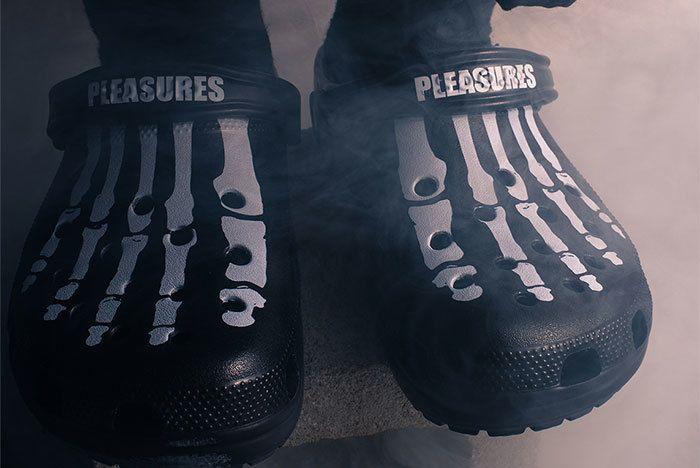 Pleasures X Crocs Sneaker Freaker