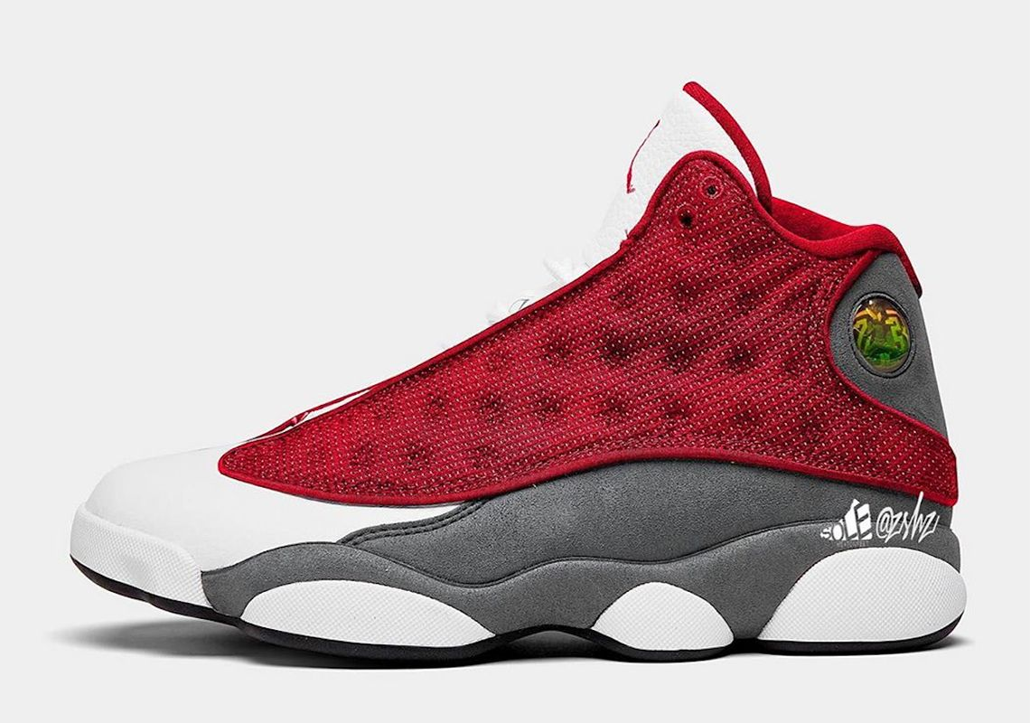 Air Jordan 13 Gym Red Left