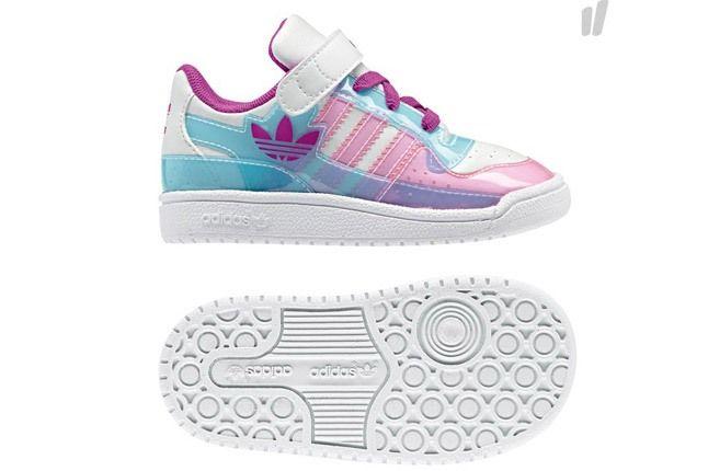 Adidas Kids Orig Pink White 1