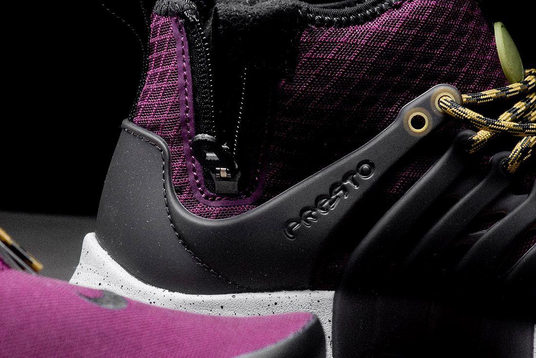 Nike Air Presto Mid Utility Bordeaux 3
