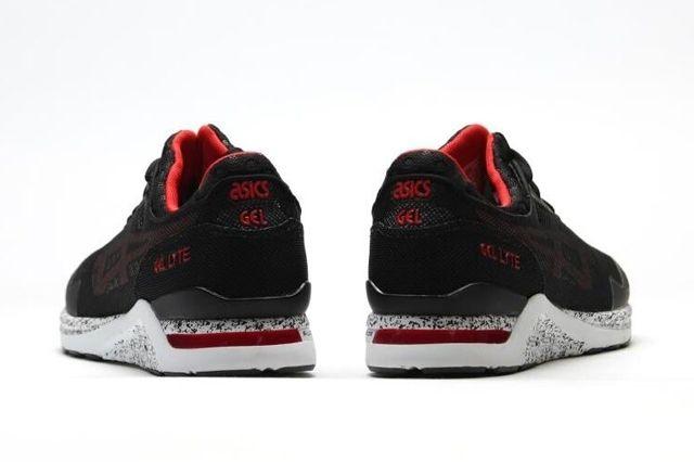 Asics Gel Lyte Evo Black Red 1