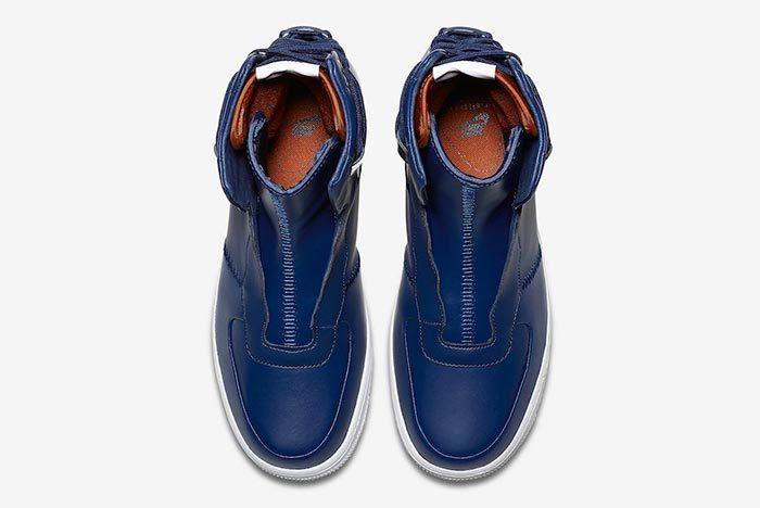 Nike Air Force 1 Rebel Blue Volt 4