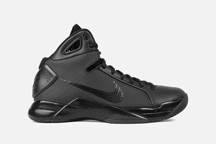 Nike Hyperdunk 2008 Retro Triple Black 2