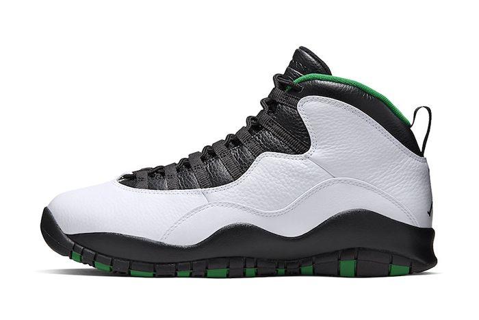 Air Jordan 10 Seattle 310805 137 Release Date Lateral