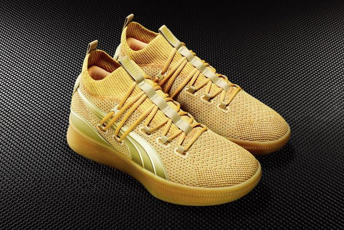 Puma Clyde Court Title Run Gold Pair