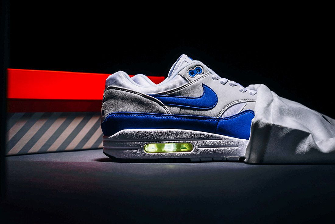 Nike Air Max 1 Og Anniversary Blue 1