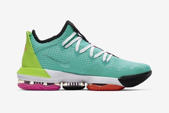 Nike Lebron 16 Hyper Jade Medial
