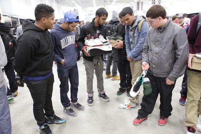 Sneaker Con New York Jordans 1