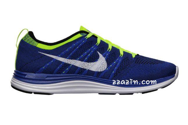 Nike Flyknit Lunar1 Blue 1